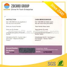wonderful design customized printing most popular vip calling card