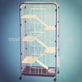 Oldukça katlanabilir metal tavşan kafesi, sincap kafesli