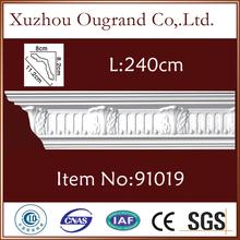 soft pu decorative cornice mouldings and skirting board