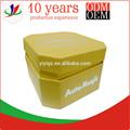 amarelo octogonal de papelão caixas de embalagens para cosméticos