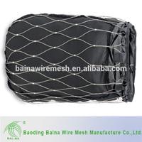 metal anti-theft women's plastic stick wire mesh bag