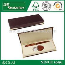 Fancy gift box cardboard pen box for deluxe pen