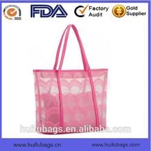 summer beach bag manufacture in China waterproof women pvc beach bag