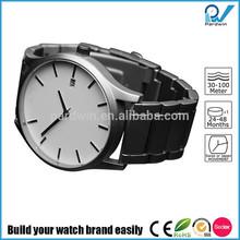 Build your watch brand quartz stainless steel brand watch Miyota movement calendar water resistant 50 meters
