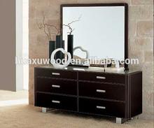 Modern style home furniture wood bedroom dressers