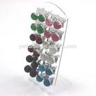 Cheap Resin Stone Crystal Ball Hemisphere Resin Earrings Fashion Ear Studs