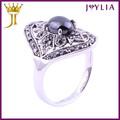 Profissional jóias de fornecimento anel de cristal pessário