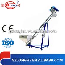 sstainless steel crew loader conveyor granules