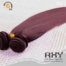 Sales Promotion Wholesale 3 bundles red brazilian hair weave
