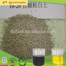 20-60mesh granules fullers earth for diesel engine oil refining