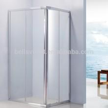bath shower6mm clear ,6512FSquare magnetic sliding door shower enclosure ,bath shower