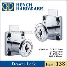 Drawer Lock, Cam Lock, Office Desk Drawer Lock