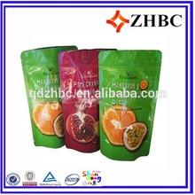 plastic packing bag for dry fruit