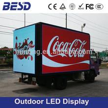 Good price P10 mobile car led display, P6 mobile led advertising board, p8 mobile truck led display