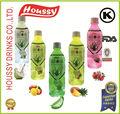 K- las ventas caliente suave de la fruta en bebida embotellada silm con el abrigo del encogimiento