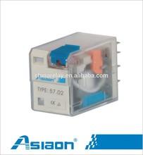 general purpose relay 57.02 8pins electric relay 24vac