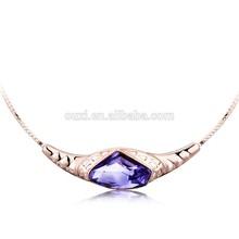 Elegance imitation jewelry necklace made with Swarovski Elements 10539