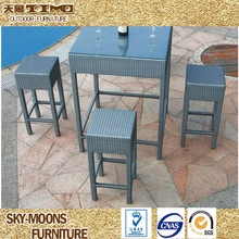 Outdoor Cheap Popular Square Bar Table (B013)