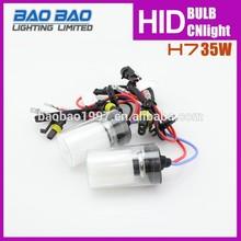 Metal base h7 xenon single beam bulb for hid 35w 55w 12v 24v, h7 hid xenon bulb holder adapter