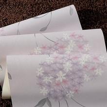 Orchidée fleur de lavande 3d machines d'impression papier peint