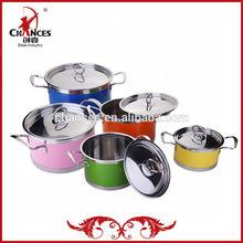 2015 New Design Stainless Steel Casserole Pot