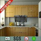 teak wood/black walnut/rosewood/ China made kitchen cabinets China cheap