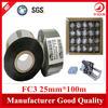 Yida FC2/FC3 25mm*100m black thermal foil ribbon foil on food packaging machine