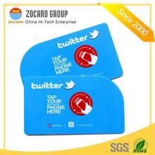 Hot Sell Printing/Blank NFC Card NFC smart card NFC business card