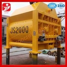 Direct manufacturer professional technical concrete mixer for sale,JS2000 concrete mixer , China concrete mixer
