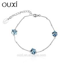 201 crystal infinity bracelet with Austrian crystal 30253 joyeria