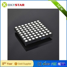 High quality with factory price! 60mm three-color full-color RGB LED dot matrix display common anode