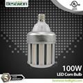 halogénures métalliques e39 100w led de lumière de maïs conduit