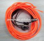 red and blue waterproof diameter 2mm EL wire