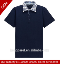 Chinese clothing bulk men soft cotton polyester custom-made blank polo shirt
