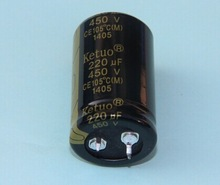 Electrolytic Capacitor, Snap-in Type Aluminum Electrolytic Capacitor 220UF 400V
