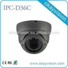 High Quality Waterproof IP65 Outdoor Dome 5 Megapixel Digital IP Camera
