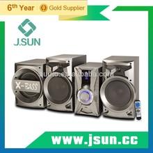 Newest design 2.1 speaker systems for multimedia
