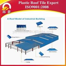 3 layer Heat Insulated UPVC Roof Sheet