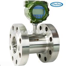 Dh500 serie medidor de flujo de turbina, turbina de baja caudalímetro made in China con precios más bajos