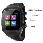 China Manufacturer Hand Watch Mobile Phone Alibaba Supplier, Lowest Price Wearable Watch Mobile Phone
