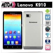 3G Original Lenovo K910 VIBE Z Phone Snapdragon 800 Quad Core Cell Phones 5.5 inch Android 4.2 SmartPhone RAM 2GB+ROM 16GB 13MP