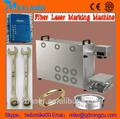 10w 20w tragbare mini metall glasfaser laserbeschriftung graviermaschine für chirurgischesinstrument