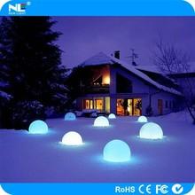 Elegant rechargeable illuminated LED magic ball lighting