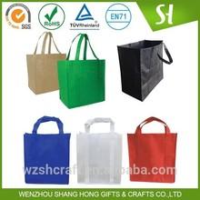 Foldable reusable shopping bag/ custom non woven grocery bags wholesale