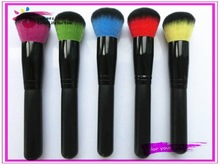 New products round/angled/flat/angled flat brush kit two-tone synthetic hair