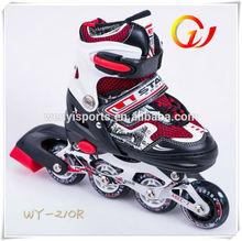 attachable helmet adjustable roller skates