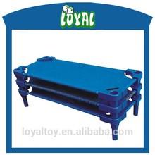 2015 Fantastic kids bed, best sale preschool baby bed, sale 10000pcs per month bunk bed