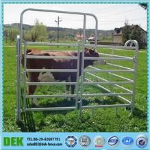 Oval Rail Heavy Duty Portable Cattle Panels For Sale