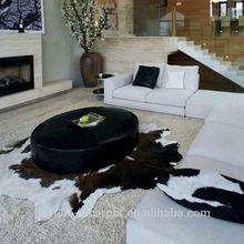 PP Series faux fur rug, cowhide rug wholesale