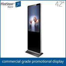 Flintstone 42 inch full HD lcd ad digital media, trade show digital signage,digital media TV for advertising
